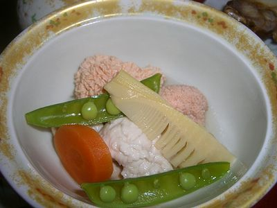 鯛子、白子うま煮