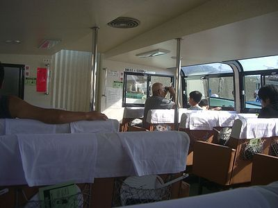 笹川流れの遊覧船